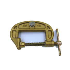21012 500amp Brass G Clamp