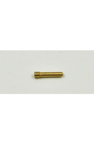 1.6mm Stubby Brass Bevelled Collet